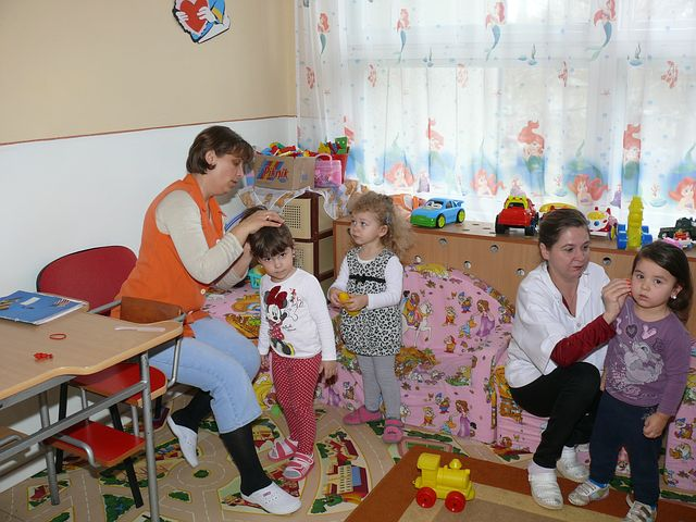 Woman working in a childcare in Punchbowl