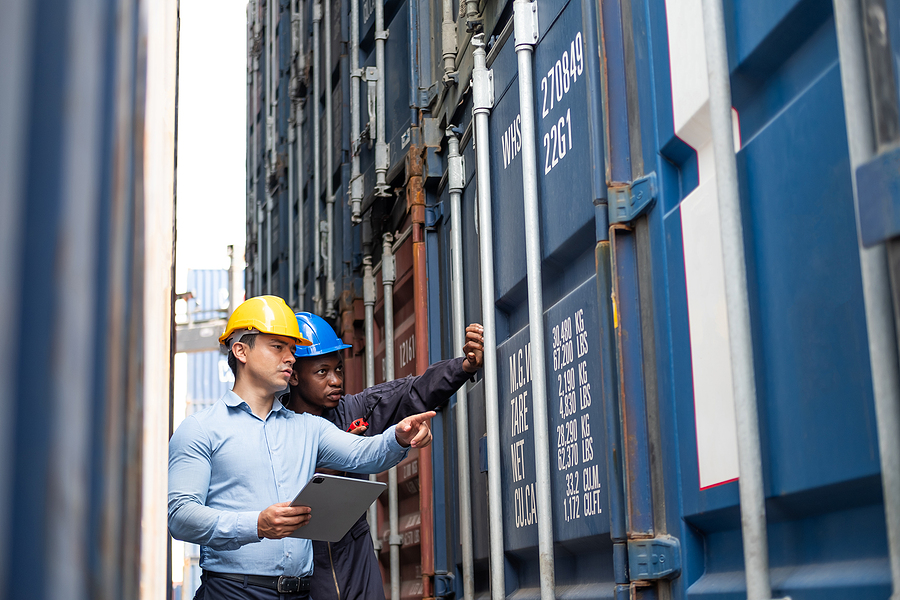 Workers of a freight forwarding companies