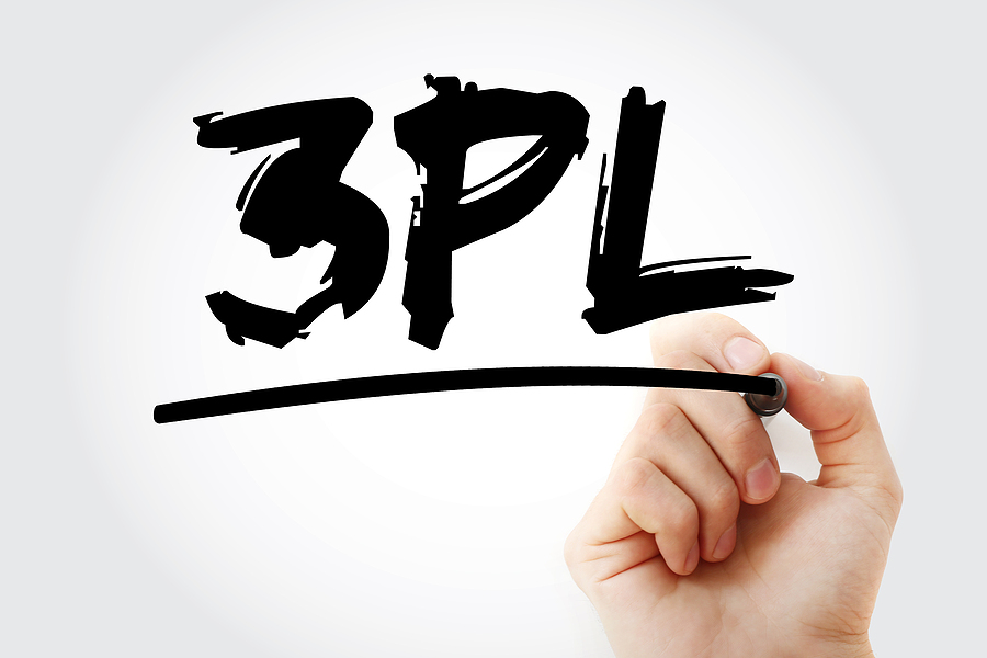 3PL acronym text and a marker